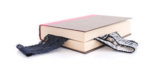 Reizvolles Bookmark Lizenzfreies Stockbild