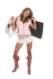 Reizvolles Einkaufen lizenzfreie stockfotografie