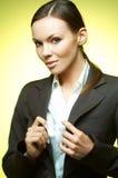 Reizvolles Geschäftsfrau Mg Stockbild