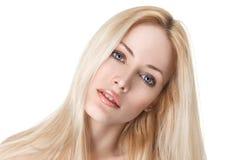 Reizvolles junges blondes Mädchen Lizenzfreies Stockbild
