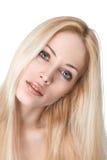 Reizvolles junges blondes Mädchen Lizenzfreie Stockfotos