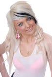 Reizvolles junges blondes Mädchenportrait Lizenzfreie Stockbilder