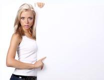 Reizvolles Mädchen Stockfotos