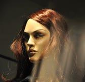 Reizvolles weibliches Mannequin des Frauenblickes Lizenzfreie Stockfotografie