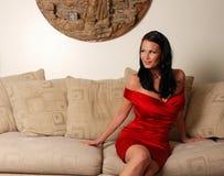 Reizvolles woman-3 lizenzfreies stockbild