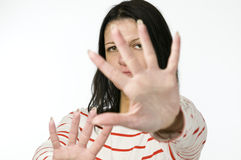 Reject for hands Stock Images