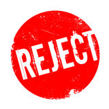 Reject rubber stamp Stock Images