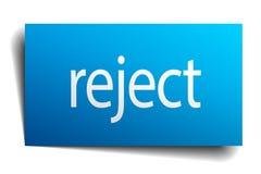 reject sign Stock Illustration