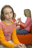 Rejected older child stock photos
