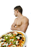 Rejected Pizza Stock Image