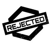 Rejected rubber stamp Stock Images