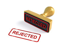Rejected stamp Royalty Free Stock Photography