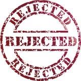 rejected stamp Στοκ φωτογραφία με δικαίωμα ελεύθερης χρήσης