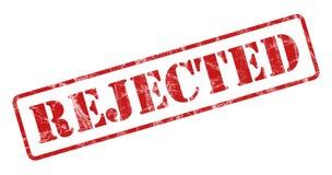 rejected stamp Στοκ Εικόνες