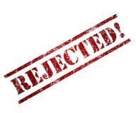 Rejected vector illustration