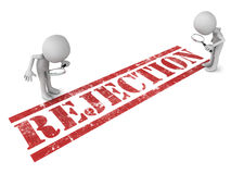 Rejection reasons Royalty Free Stock Images