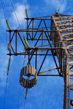Rejector op de elektrische toren royalty-vrije stock afbeelding
