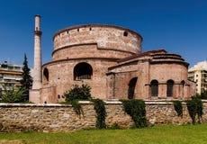 Rejep巴夏老清真寺在罗得岛镇,希腊 库存图片
