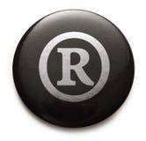Rejestrowy znaka firmowego znak Fotografia Royalty Free