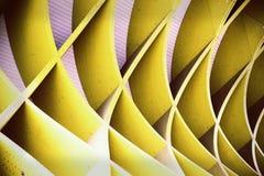 Rejilla amarilla Fotos de archivo
