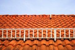 Rejilla anti de la avalancha del tejado Imagen de archivo