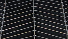 Rejilla de acero Foto de archivo libre de regalías