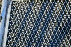 Rejilla de acero Imagen de archivo libre de regalías