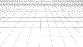 Rejilla de la perspectiva del vector con las l?neas detalladas libre illustration