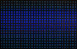 Rejilla del calabozo con retroiluminación azul Fotografía de archivo libre de regalías