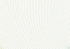 Rejilla del fondo del vector del guilloquis Plantilla para proteger las seguridades, cupones del regalo, certificados, diplomas,  ilustración del vector