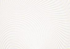 Rejilla del fondo del vector del guilloquis Textura del ornamento del moaré con las ondas Modelo para la garantía del dinero, cer libre illustration