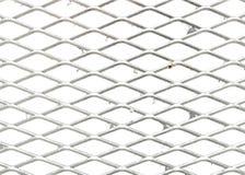 Rejilla del metal Fotografía de archivo
