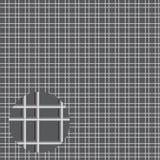 Rejilla del metal de tubos Imagenes de archivo