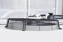 Rejilla del sistema del acondicionador de aire Imagen de archivo libre de regalías