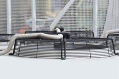 Rejilla del sistema del acondicionador de aire Fotos de archivo libres de regalías