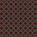 Rejilla elegante colorida Mesh Pattern Background del extracto retro de la tela escocesa ilustración del vector