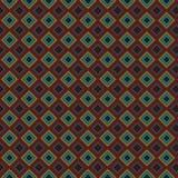 Rejilla elegante colorida Mesh Pattern Background del extracto retro de la tela escocesa stock de ilustración