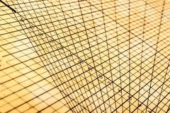 Rejilla geométrica de la tabla foto de archivo libre de regalías