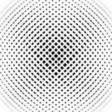 Rejilla, modelo de la malla con efecto convexo leve Abst cuadrado del formato stock de ilustración