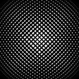 Rejilla, modelo de la malla con efecto convexo leve Abst cuadrado del formato libre illustration