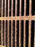 Rejilla oxidada Fotografía de archivo libre de regalías