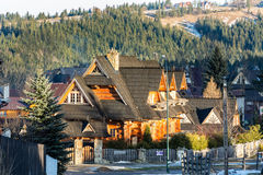 Rejka stylish villa in Zakopane Royalty Free Stock Image