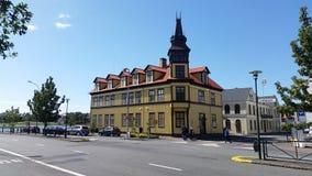Rejkyavik Traditional House Royalty Free Stock Image
