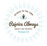 Rejoice in the Lord Always Royalty Free Stock Photography