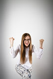 Rejoicing Royalty Free Stock Images