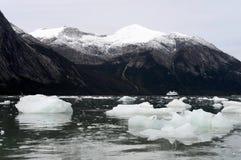 Rejs łódź w fjord Pia zdjęcia royalty free