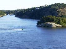 Rejs na morzu bałtyckim Zdjęcie Stock