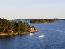 Rejs na morzu bałtyckim Zdjęcia Royalty Free
