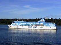 Rejs na morzu bałtyckim Obrazy Royalty Free