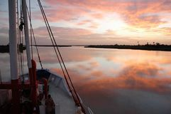 Rejs na Senegal rzece, afryka zachodnia obrazy stock